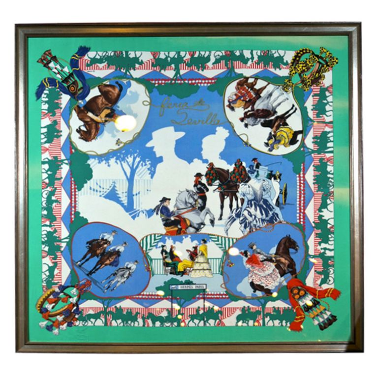 1stdibs - French Silk Hermes Scarf explore items from 1,700 global dealers  at 1stdibs.com 86d45c8efac