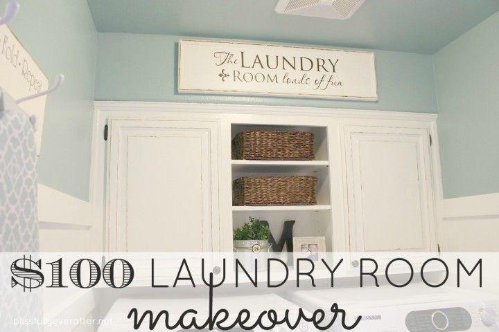 Laundry Room Makeover Laundry Room Ideas Pinterest Laundry