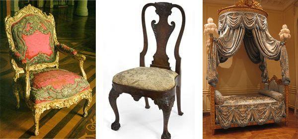 18th C Russian furniture antique chair beautiful 18th