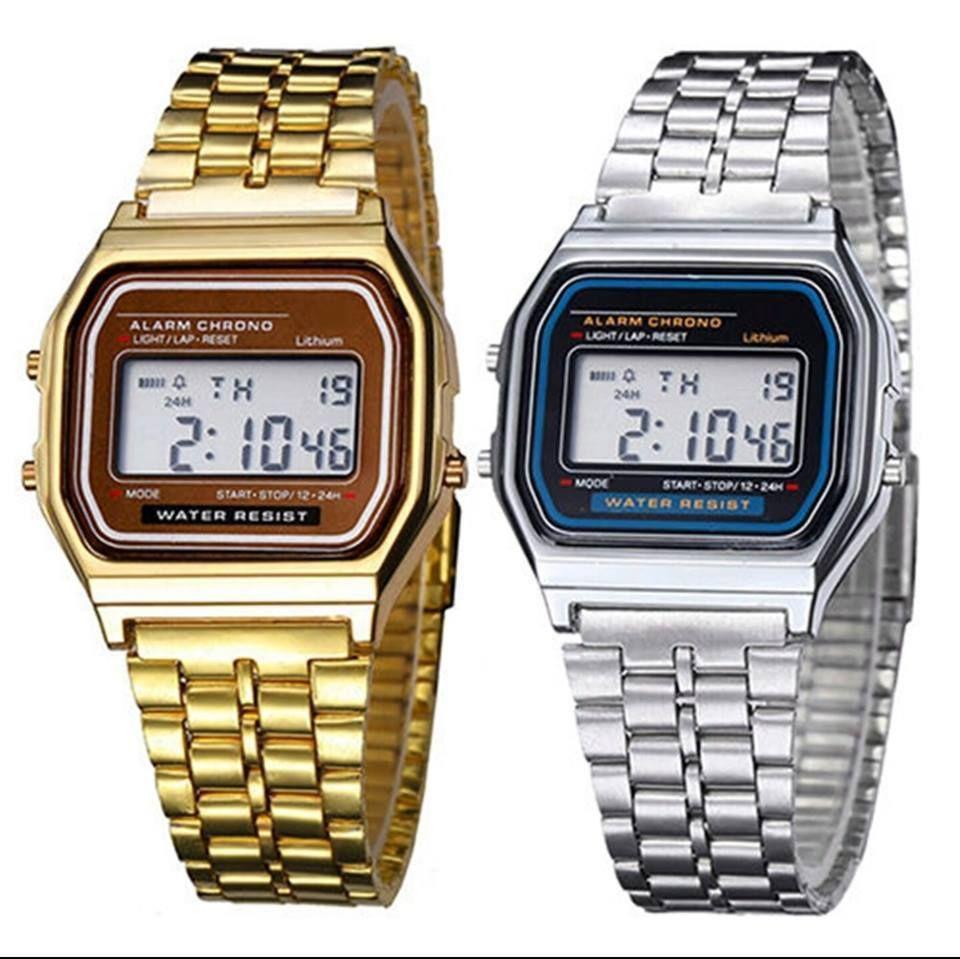 half off 11f4d 05c24 Vintage LCD Digital Watch Metal Classic Retro Unisex Gift Box  vintage   digital  watch  retro  casio