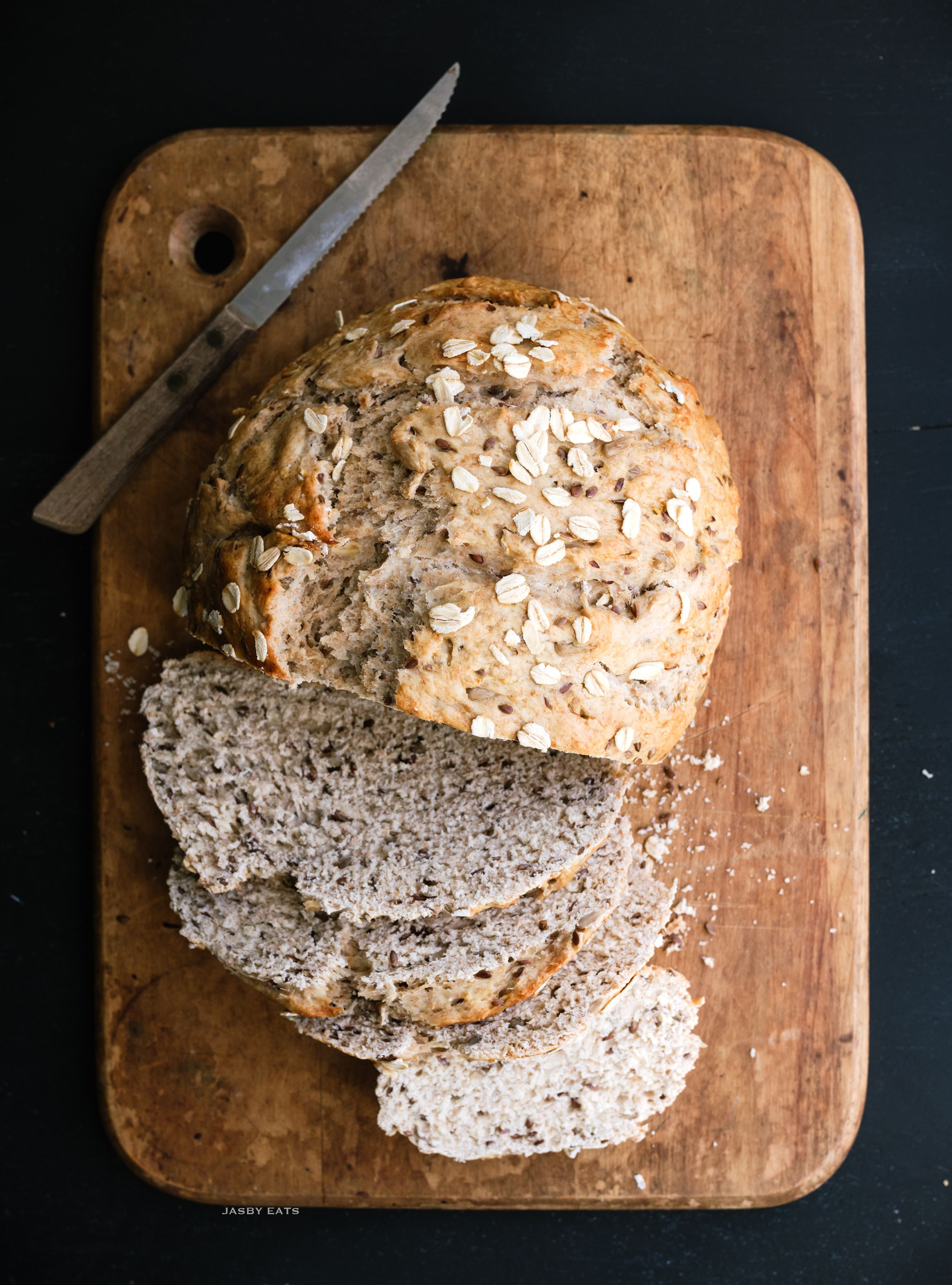 Mutli Grain Bread Loaf | Recipe | Multi grain bread, Bread ...