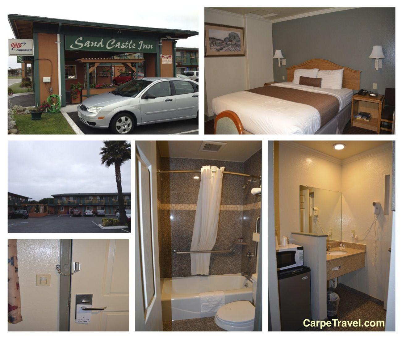 Check-In: Sand Castle Inn Seaside CA