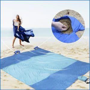 7 Bodear Beach Blanket Oversized 10 X8 Sand Proof Beach Picnic Blanket Beach Blanket Blanket Picnic Mat