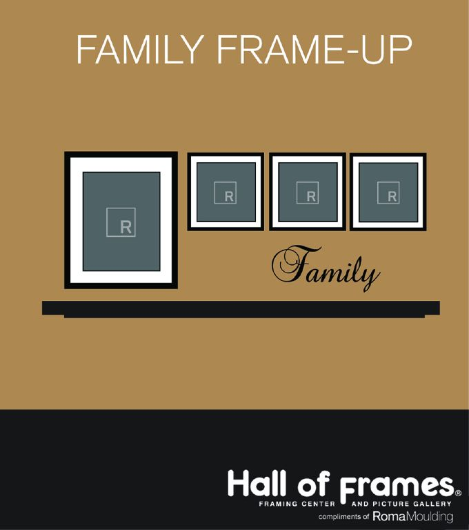 Picture Frame Wall Ideas   Picture Hanging Ideas - Hanging ...