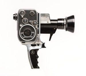 8mm Zoom Reflex cine camera by Bolex Paillard, 1963, RPM collection. c. James Pike 1