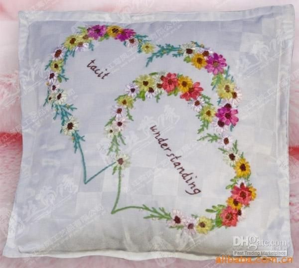 Images Of Ribbon Embroidery Designs Google Search Cushions