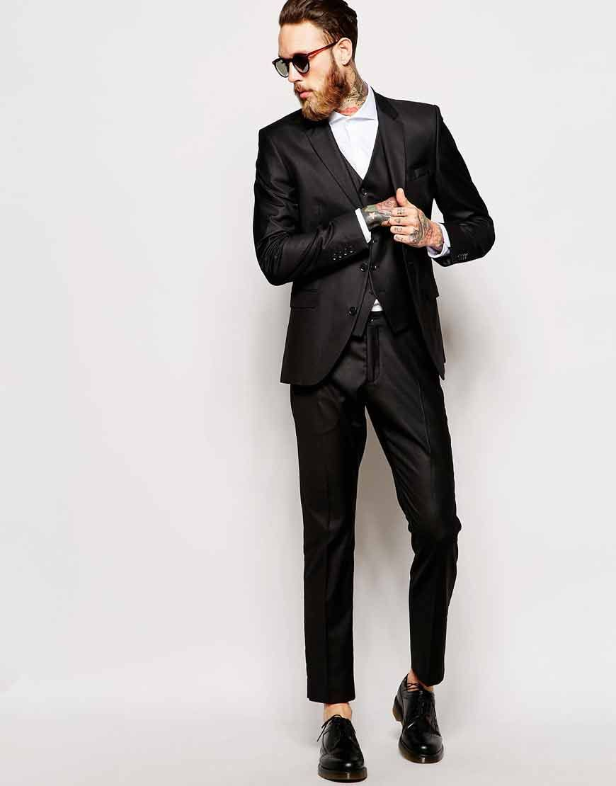 Selected Homme Black Suit in Slim Fit | Stuff to Buy | Pinterest ...