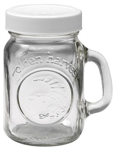 Golden Harvest 40501 4 Oz Salt Or Pepper Shaker Glass At Plumbersurplus Com Stuffed Peppers Canning Jars Jar