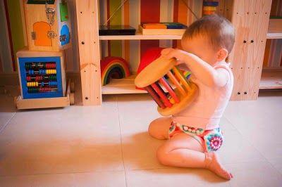 Tigriteando Montessori Con Bebes Parte 2 6 12 Meses Montessori Montessori Bebé Bebe