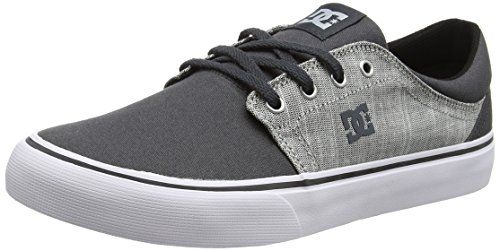 DC Shoes Heathrow Se M Zapatillas, Hombre, Gris (Grey Heather), 42