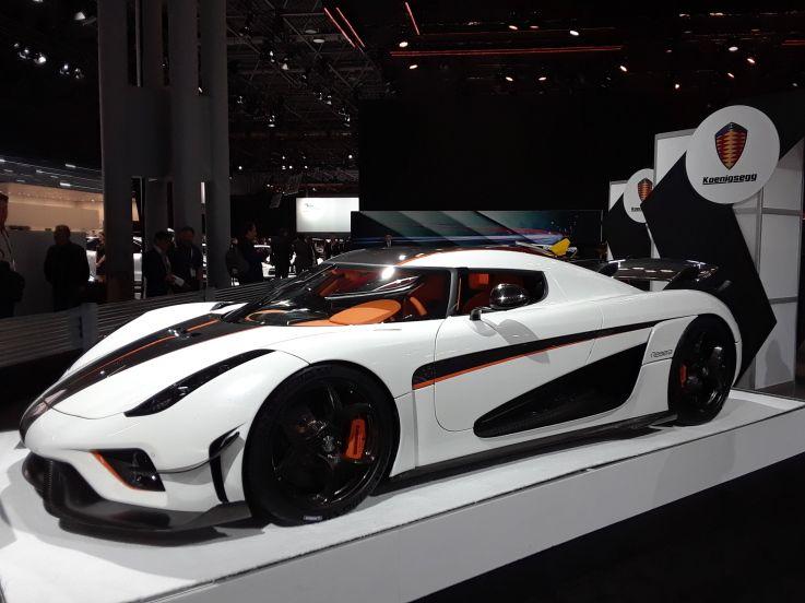 2018 New York International Auto Show Koenigsegg Koenigsegg