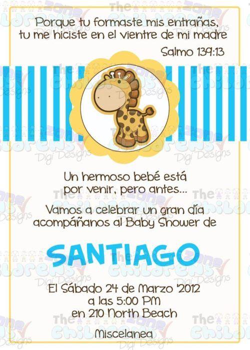 Invitaciones Con Frases Bonitas Para Baby Shower In 2019