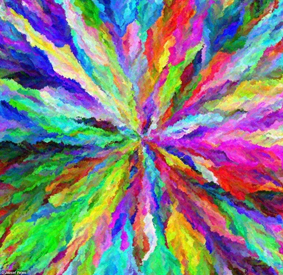 Amazing Software Creates Art Using 17 MILLION Colours On A