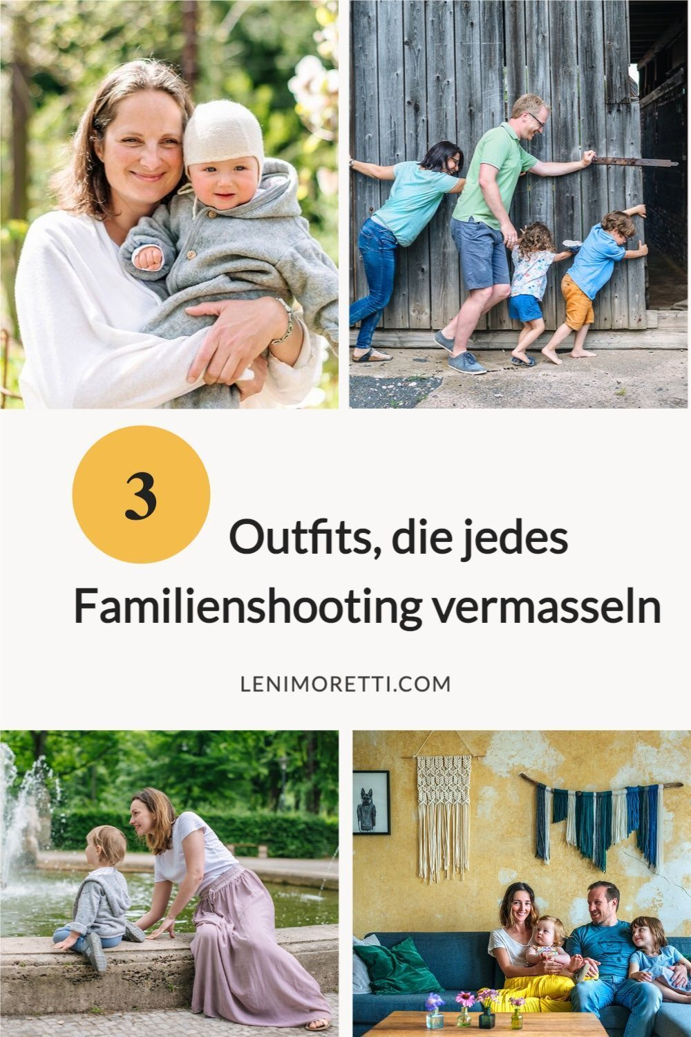 20 Outfits, die jedes Familienshooting vermasseln ...