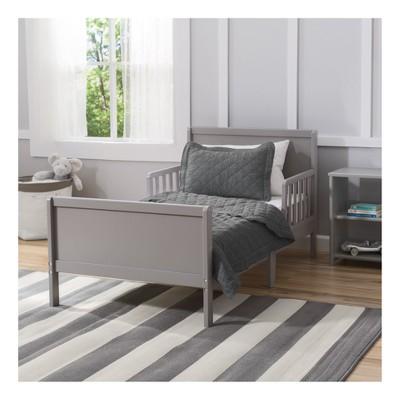 Delta Children Fancy Toddler Bed Gray