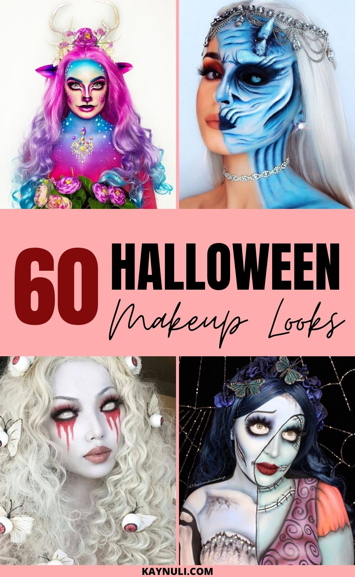 Remake Vs 2020 Halloween 60+ Halloween Makeup Looks That Will Inspire You   KAYNULI in 2020