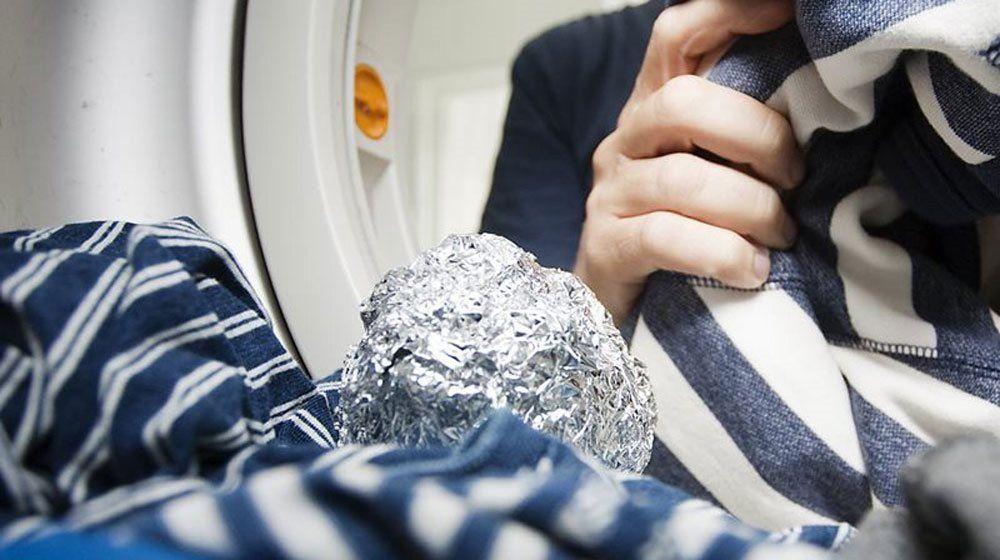 Aluminium förhindrar statiska kläder