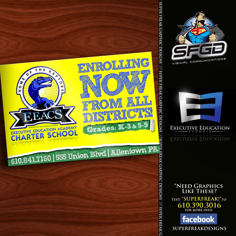 4 X6 Flyer Design For 2015 Enrollment Executive Education Academy