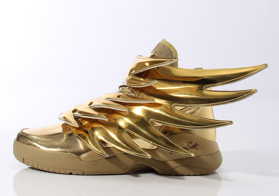 714025fa20d2 Jeremy Scott and adidas Go For Gold With Latest Wings 3.0 Release -  SneakerNews.com