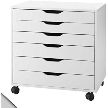Ikea Alex Drawer Unit On Casters White 1826 29208 104 Walmart Com Ikea Alex Drawers Drawer Unit Ikea Drawers