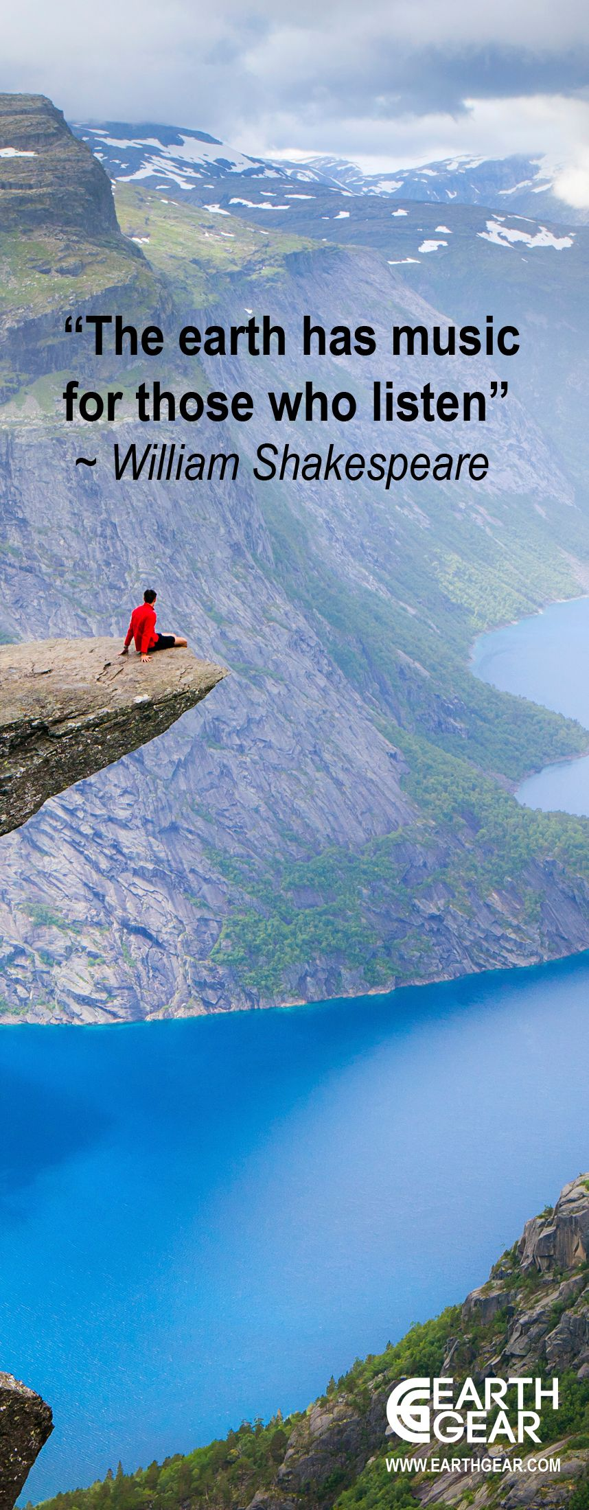 Inspirational Quotes Outdoor Adventure Landscape Quotes