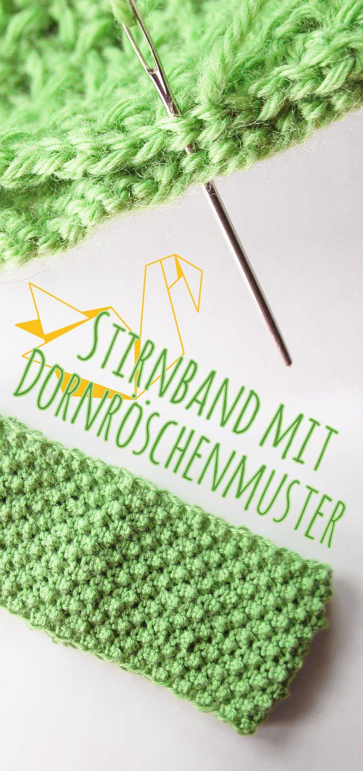Photo of Stirnband stricken mit Dornröschenmuster: DIY-Anleitung