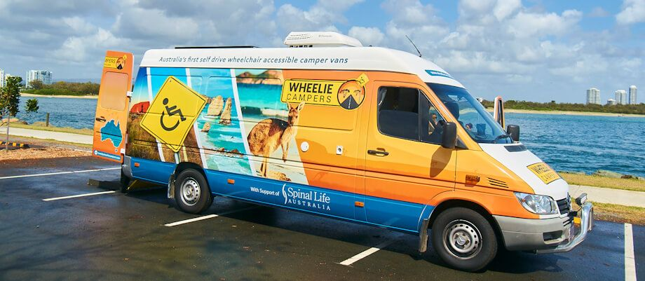 Australian Wheelie Campers: Self-drive Wheelchair ...