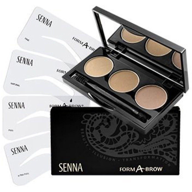 Senna Cosmetics Form A Brow Stencil Kit Ash Blonde Click On The