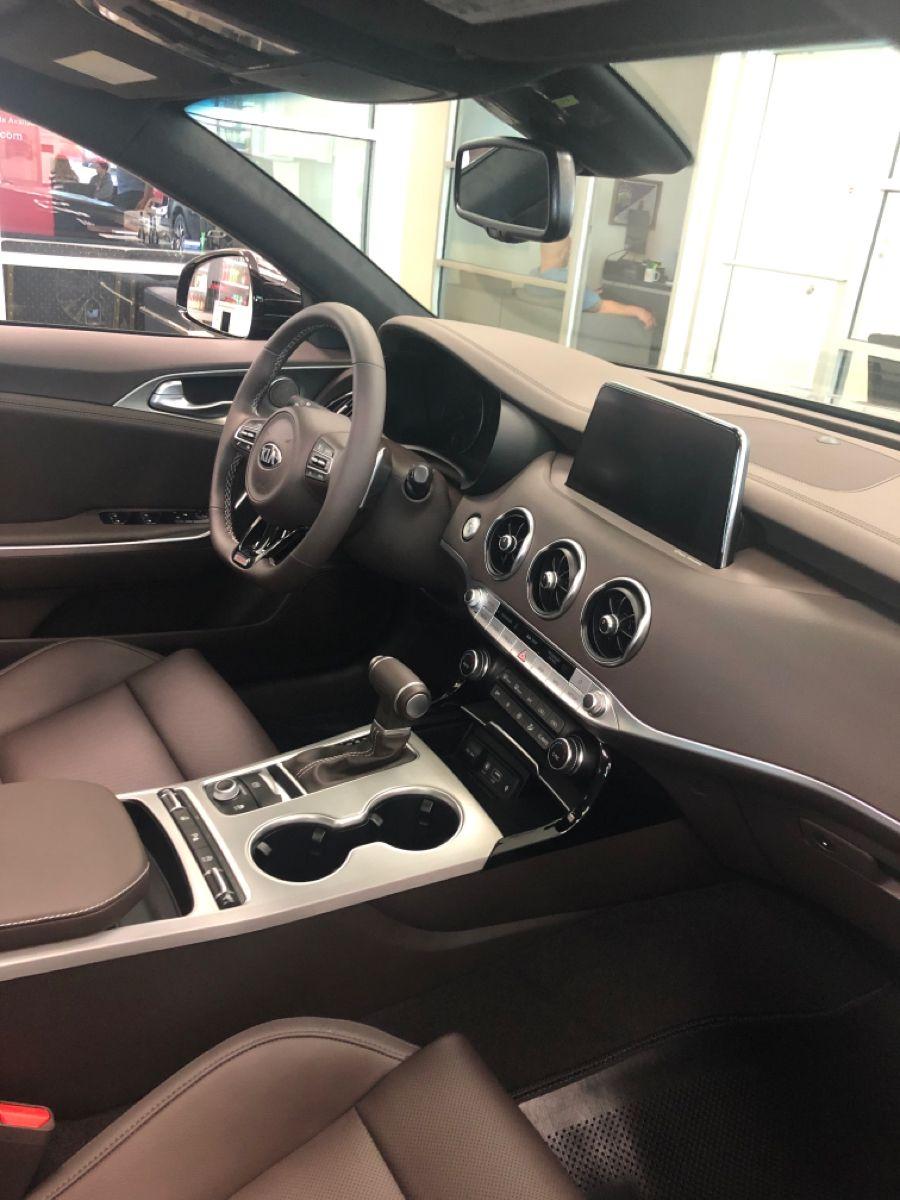 2020 Kia Stinger Gt Interior Kia Stinger Kia Red Interior Car