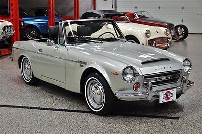 1969 Datsun Srl311 Fairlady 2000 Roadster California Blue Plate Very Rare