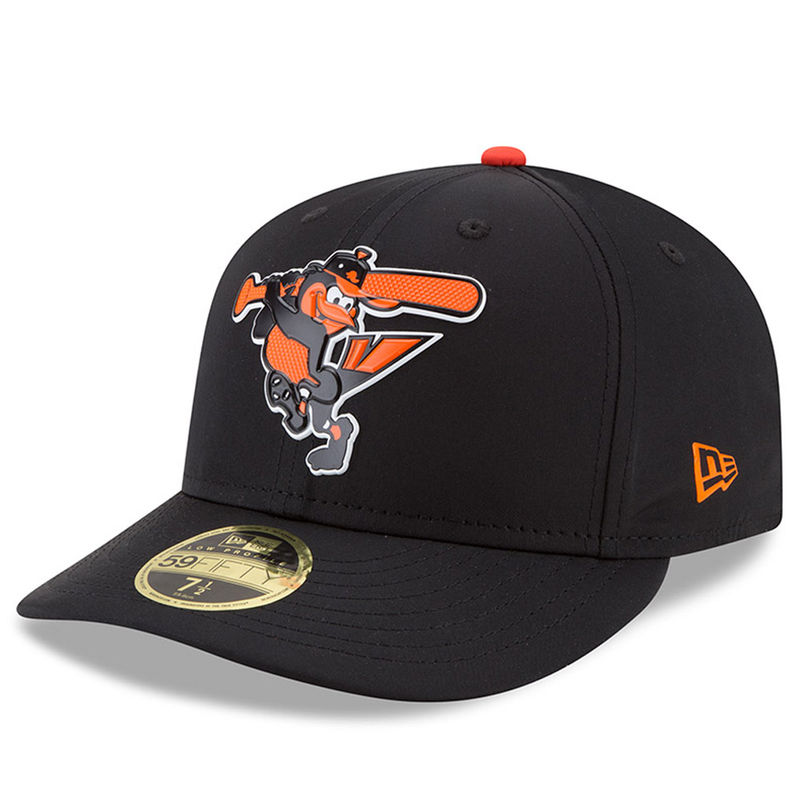 san francisco 87ace d44ea ... reduced baltimore orioles new era 2018 on field prolight batting  practice low profile 59fifty fitted hat