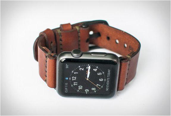 11306a127e1 PULSEIRA DE COURO PARA O RELÓGIO DA APPLE - WATCH LEATHER STRAP Dê ao seu  relógio Apple uma sensação de vintage com esta pulseira de couro