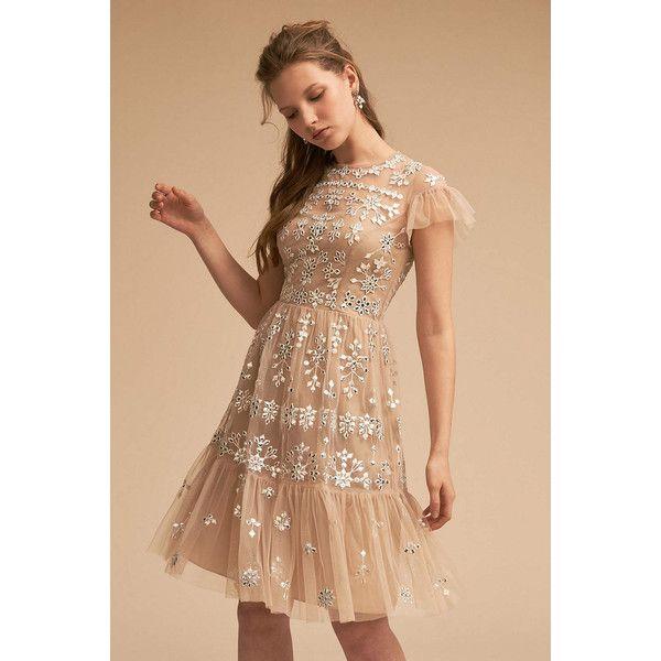 Anthropologie Tristan Wedding Guest Dress featuring polyvore women\'s ...