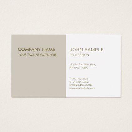 Modern Professional Elegant Trending Colors Business Card - cool