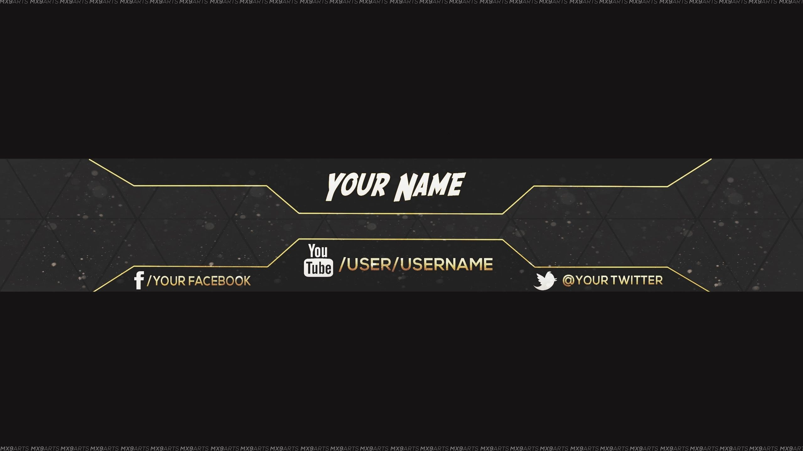Res 2560x1440 Reupload Free Amazing Youtube Channel Banner Template 5 Direct Downloa Youtube Banner Template Youtube Banner Backgrounds Banner Template