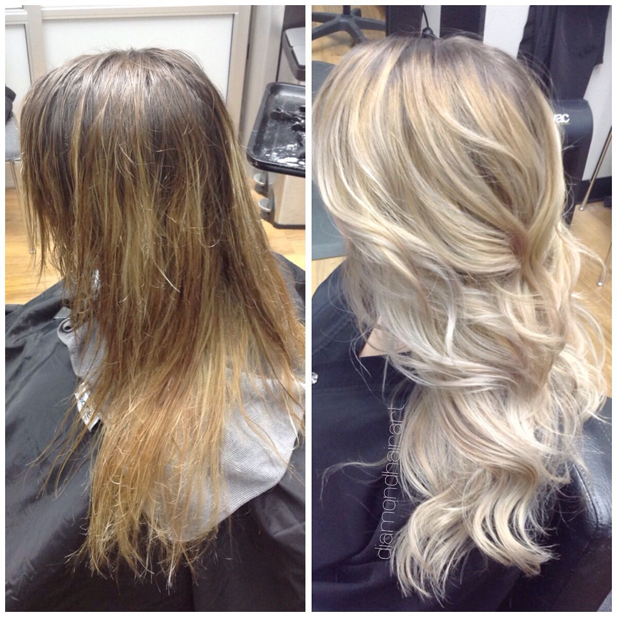 My Hair Before And After With Olaplex Permed Hairstyles Hair Styles Hair Inspiration Color