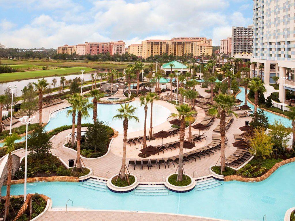 Hilton Orlando Bonnet Creek, Orlando, Florida, United States - Hotel ...