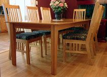 Dining Room Harvest Table And Captain Chair Plans  Woodworking Custom Captain Chairs For Dining Room Inspiration