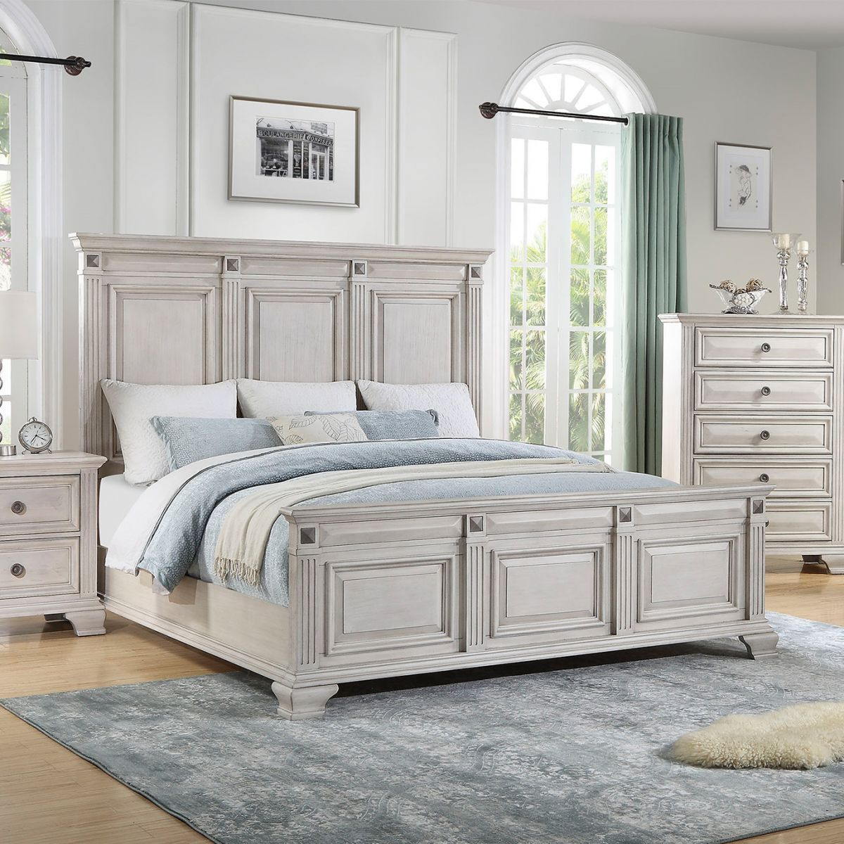 15 Good 5 Drawer Whitewash Dresser In Bedroom Sample Now There S A Space For Everything With Lot White Bedroom Set Bedroom Sets Queen Black Bedroom Furniture