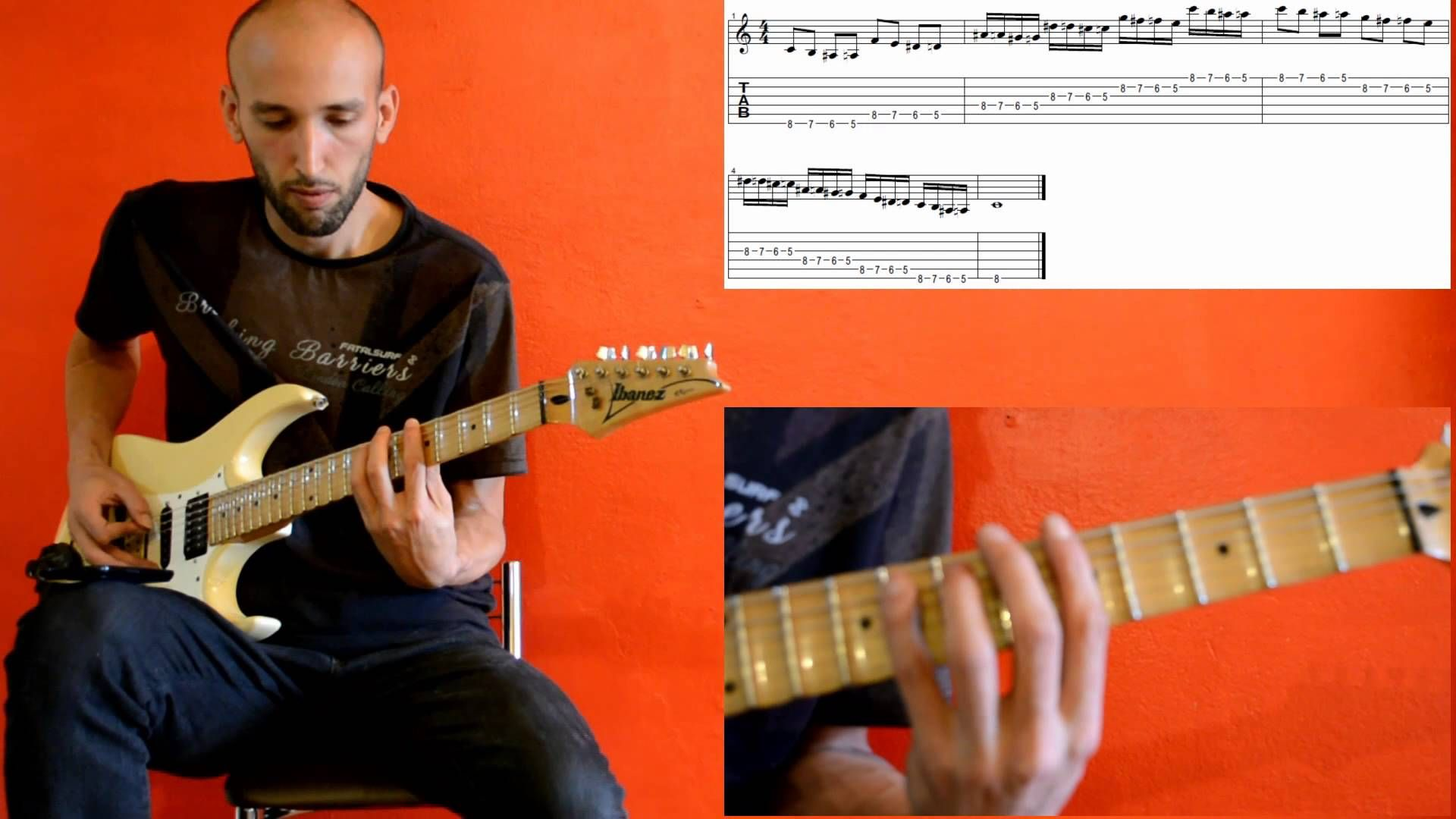 Symmetrical exercises for guitar n.3 - Daniel Nodari