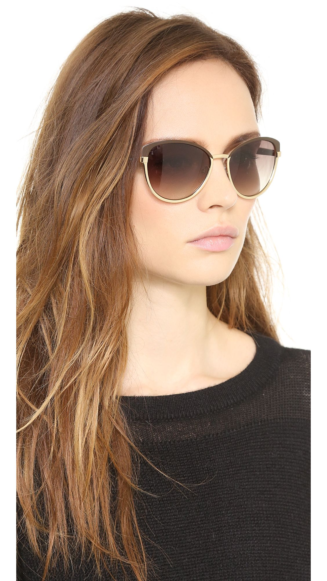 f16295eb90 Marc by Marc Jacobs Two Tone Cat Eye Sunglasses