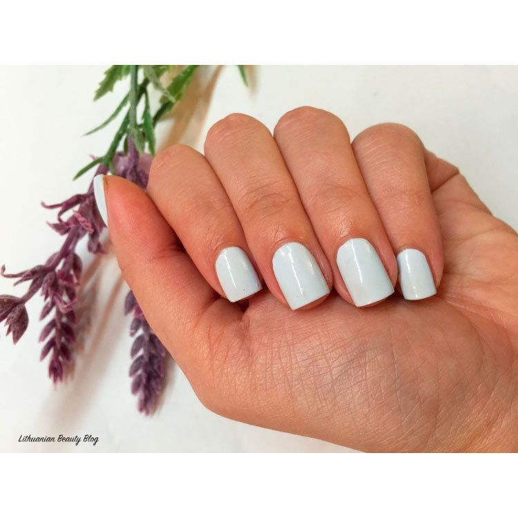 Стойкий лак для ногтей Oriflame - морская пена (соль) The ONE long ...