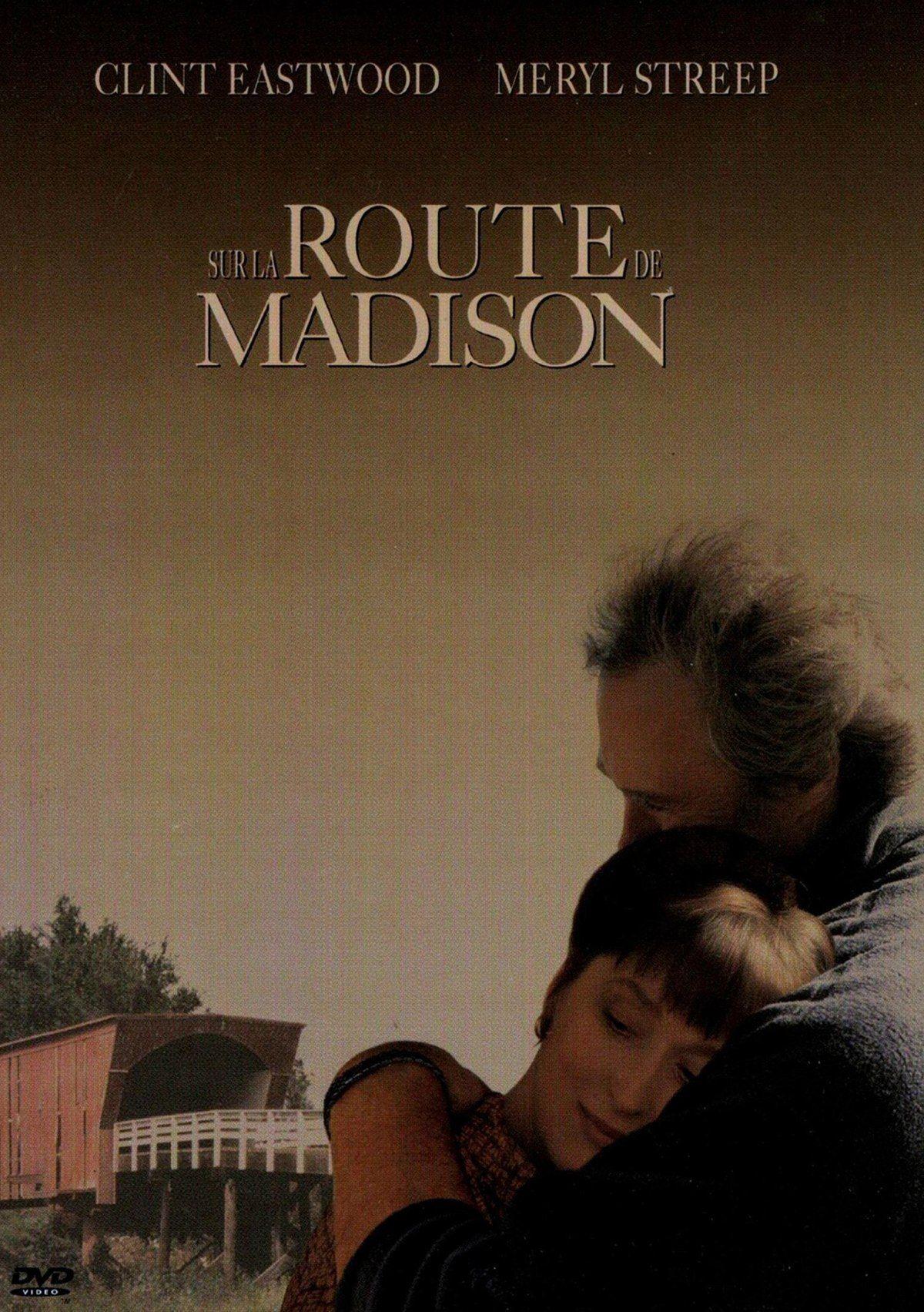 Sur la route de madison | Film d'amour, Clint eastwood, Affiche film