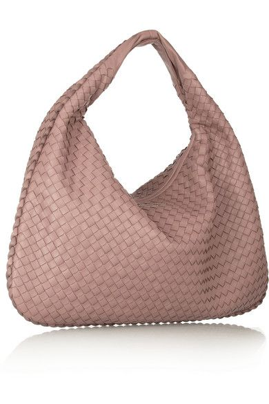 Bottega Veneta Large Veneta Intrecciato leather should bag in Antique Rose  color 43c62d8008d85