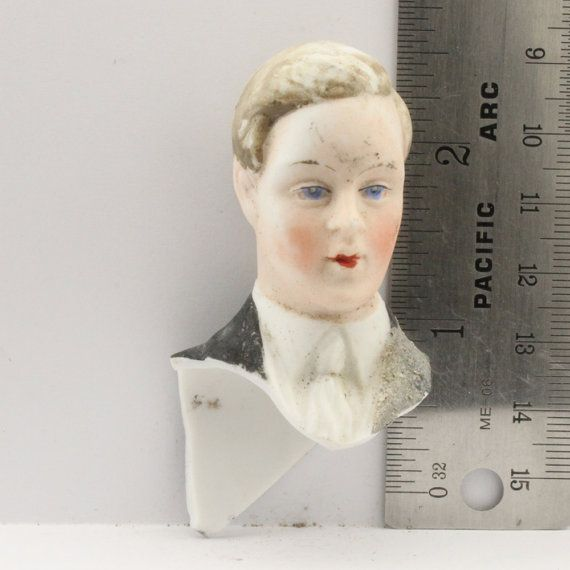 Antique German Doll Head by oscarcrow on Etsy, $8.00