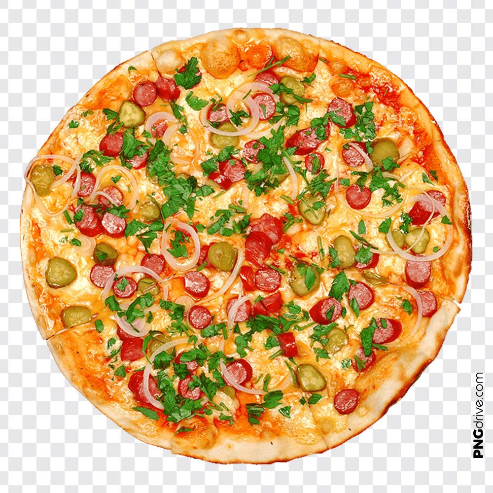 Delicious Cheese Veg Pizza Png Image Veg Pizza Pizza Pizza