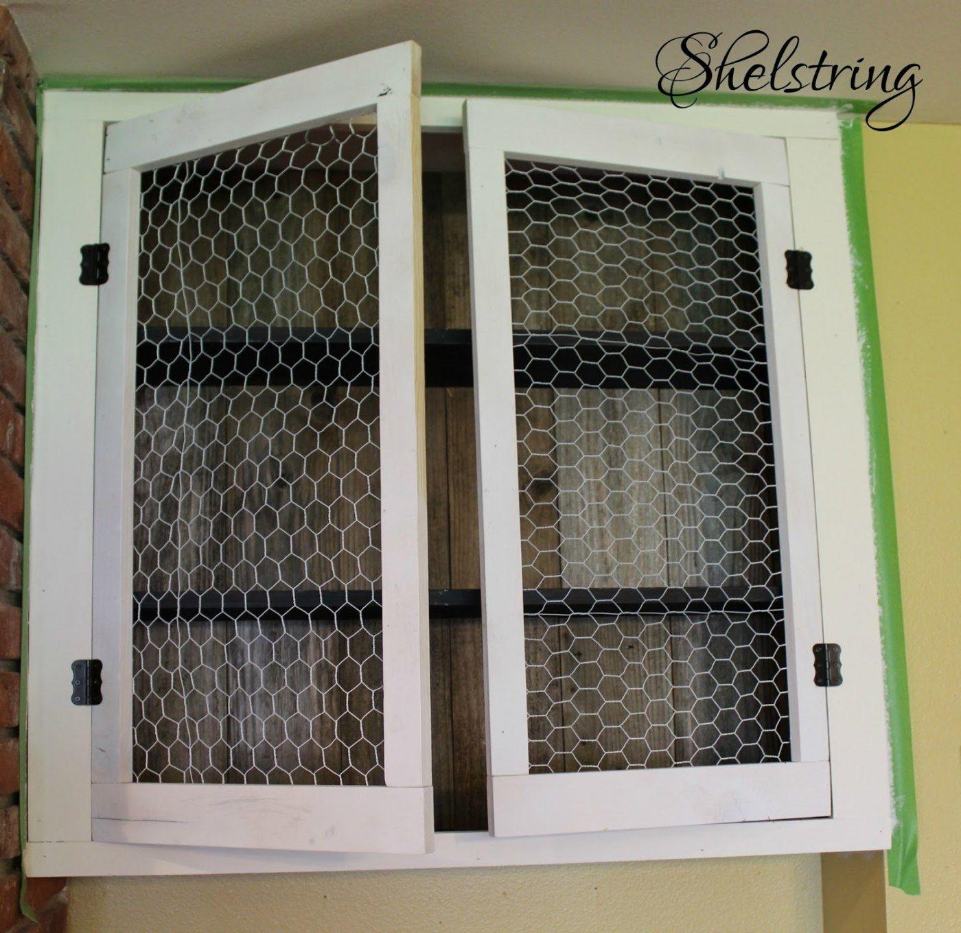 Mesh Wire Door Inserts Cabinet Nilza Screen For Doors Magnetic Locks No Drill Led Lighting Dimmable Gr Diy Cabinet Doors Cabinet Doors Repurposed Cabinet Doors