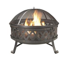 Lowe S Garden Treasures 35 4 In W Steel Wood Burning Fire Pit 59 Shipped Sweet Deals 4 Moms Wood Burning Fire Pit Wood Burning Fires Garden Treasures Fire Pit