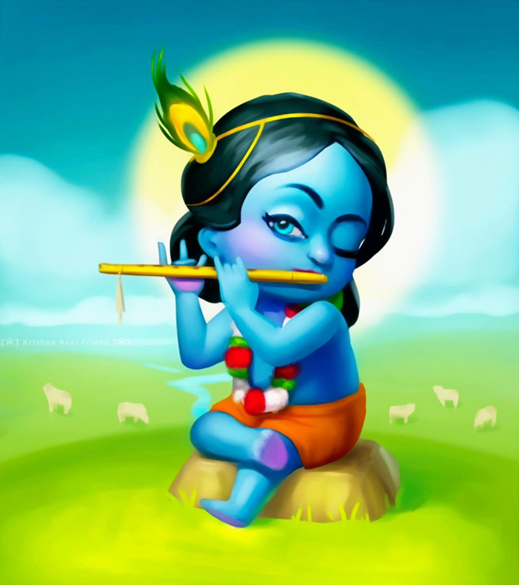 Pin By Diego Olioni On Imagens Cute Krishna Baby Krishna Cartoons Krishna