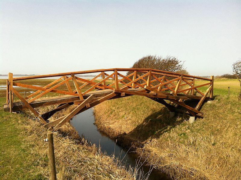 File Leonardo Da Vinci Bridge Karby Jpg Pont En Bois Pont De